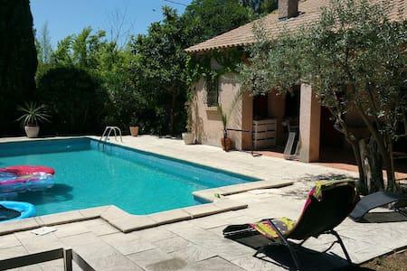 Grande maison provençale 20 min mer 15 min montpel - Saint-Brès
