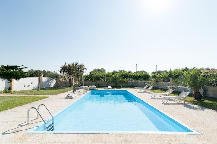 """""""La Chiesura 3"""" monolocale in villa con piscina"""