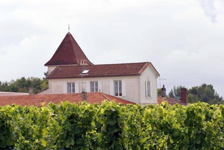 Chambre dans domaine viticole