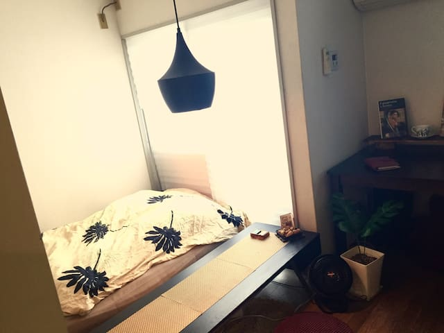 【New Bed】Urban retreat - Fukushima-ku, Ōsaka-shi - Apartemen