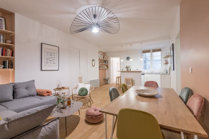 Gorgeous family apartment in heart of Paris!