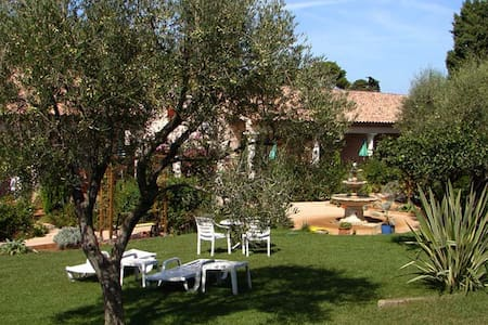 Cap d'Antibes, quiet 2 rooms apt, beach at 200 m - Antibes