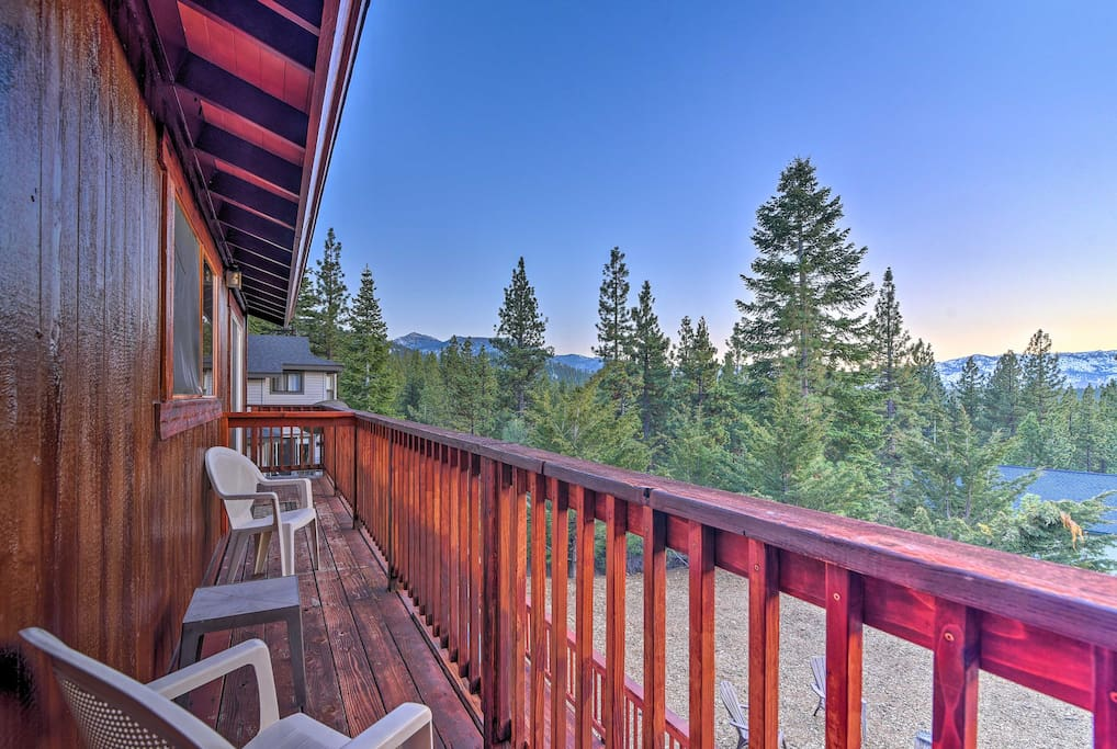 Let your stress melt away at this vacation rental house in South Lake Tahoe!