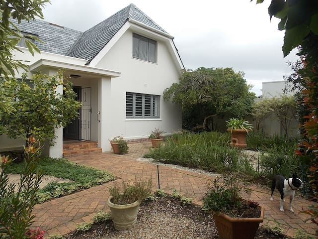 Rose House close to Hermanus Central & cliff paths