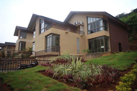 Calvin - Mountain View 4 BHK Villa in Lavasa - Lavasa
