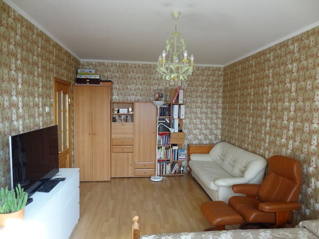 Благоустроенная квартира недалеко от Лужников