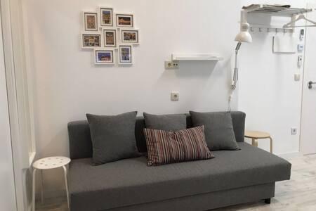 1 NN Loft con WiFi, A/A fácil parking, Céntrico