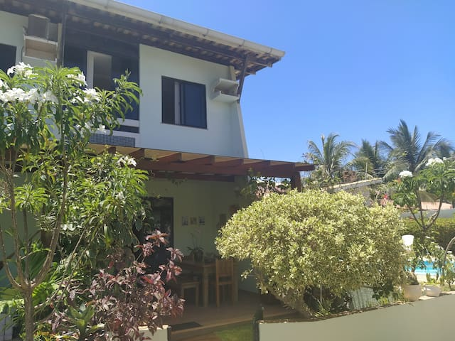 Village P. Flamengo 400m  praia Piscina e Jardim!