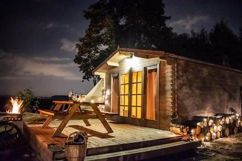 Romantic Wooden Tiny House