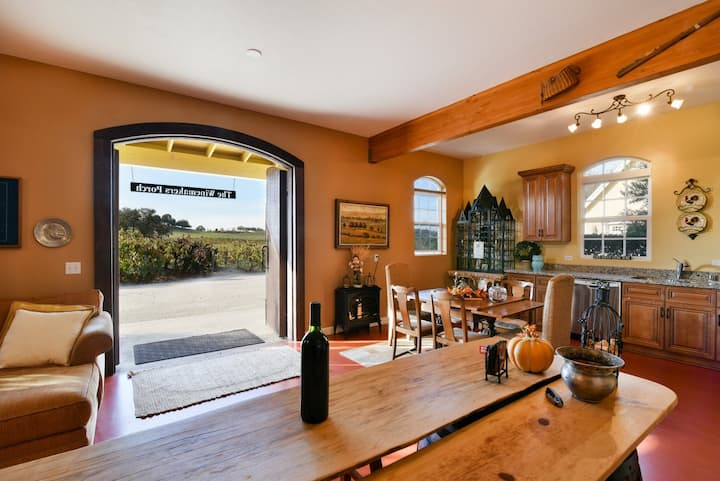 Winemakers Porch Incredible Home nestled in the Vineyard