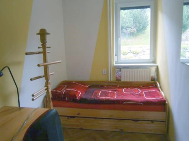 Apartmán pod Kamencem - Jednolůžkový pokoj