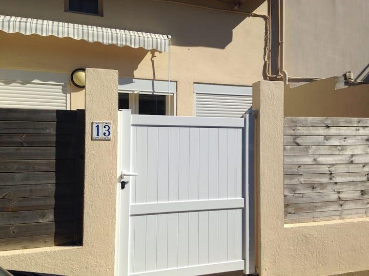 Maison au calme à 2 mn de la plage et du centre