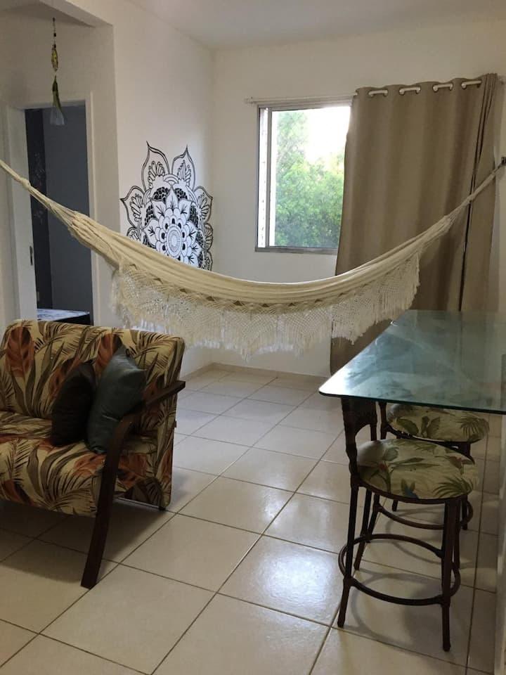 Apartamento em Jacaraipe a 500m da praia