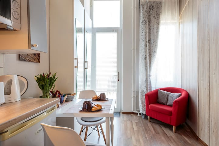 Cosy studio in the heart of Charlottenburg