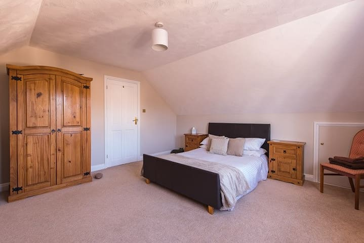 Our 2nd bedroom is also a lovely double overlooking the garden