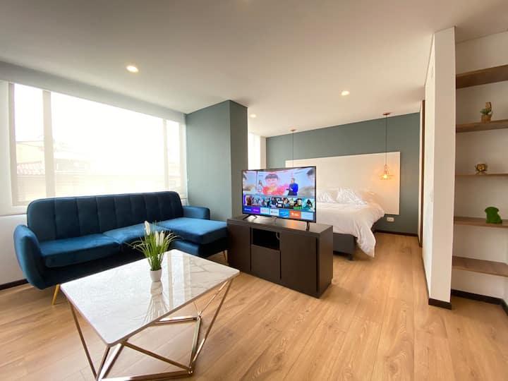 Chia apartamento acogedor, nuevo y con Diseño ,