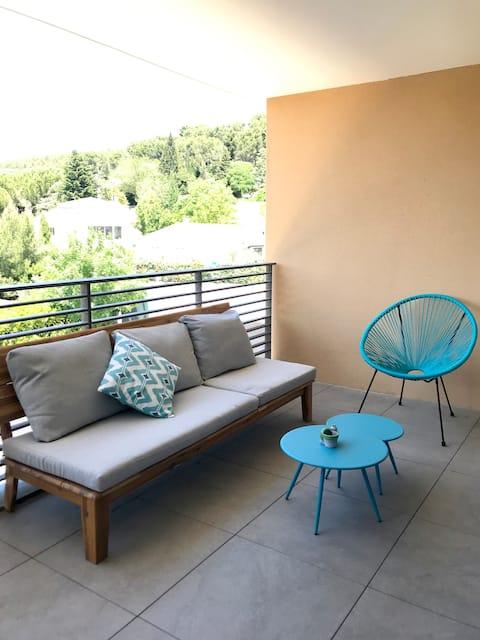 Joli T2 de 45m² à proximité d'Aix-en-Provence