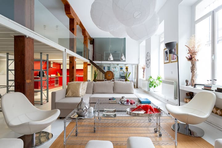 The New Loft at RetiroPark with private terrace