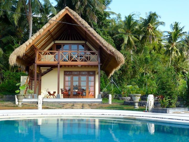Cottage Lotus  traumhaftes Ost-Bali