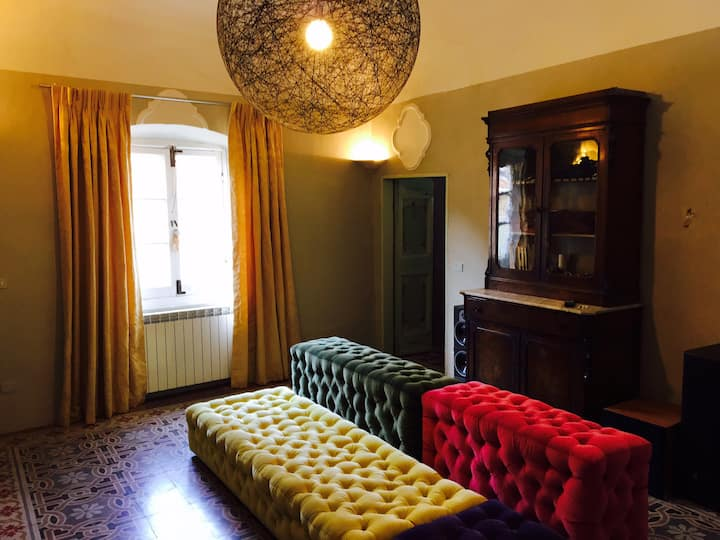 Fabulous apartment in the heart of Finalborgo