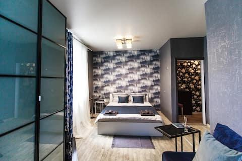 Стильная квартира в тихом районе недалеко от Лавры
