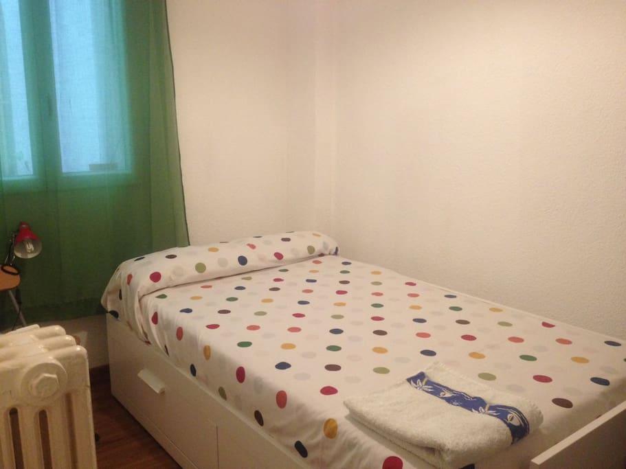 Habitación tranquila/Quiet room