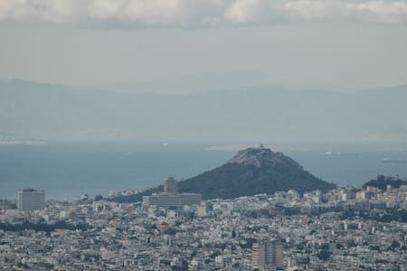 Bird's Eye View of Athens city - Penteli - Byt