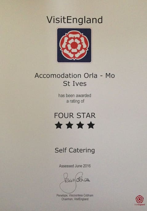 Accommodation Orla-Mo - Officially Four Star rated holiday cottage