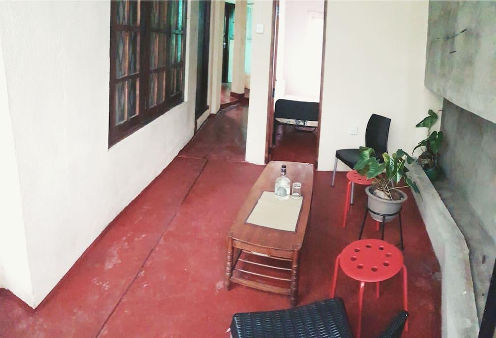Private Sitting area