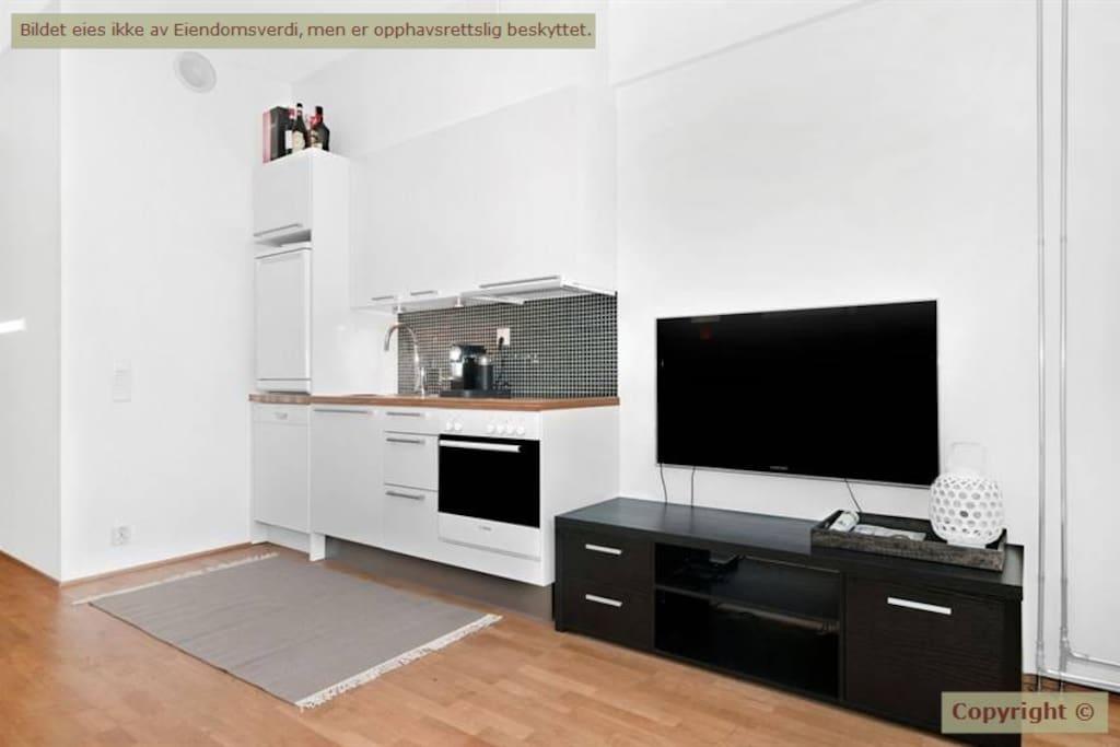 Kitchen w/ oven,  micro and dishwasher