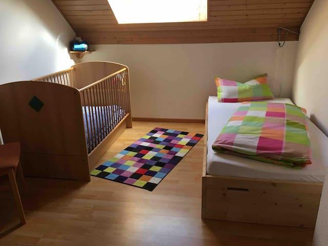 Variabel einzurichten Einzelbett,zwei Einzelbetten ,Babybett