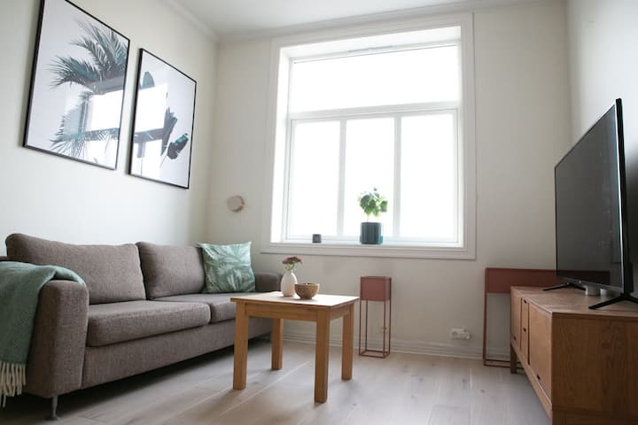 Grünerløkka: Two bedroom apartment central in Oslo