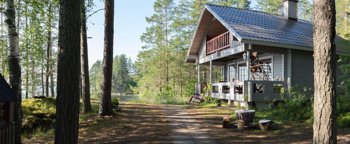 """Private """"Island"""" at Lake Pielinen In North-Karelia"""
