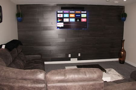 Whole basement suite in a house