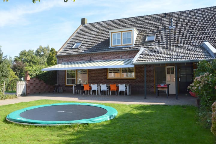 Group accommodations with many facilities for children, near the Efteling