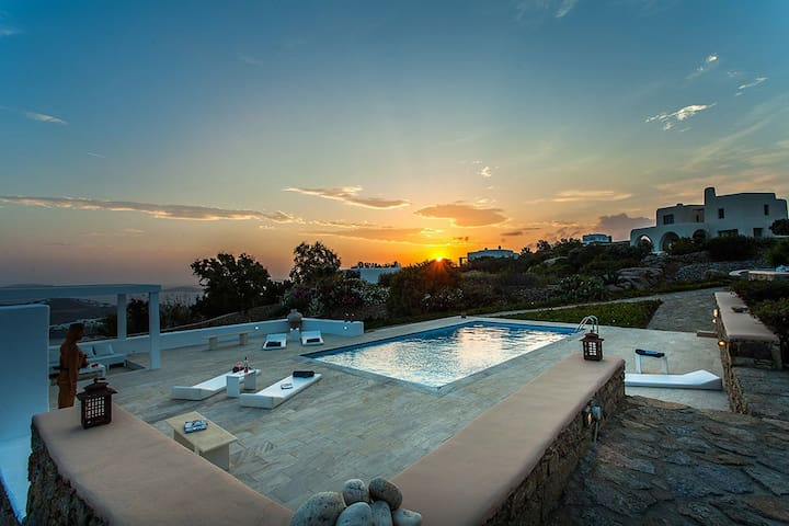 Villa Alexia , Saint Lazaros, Mykonos