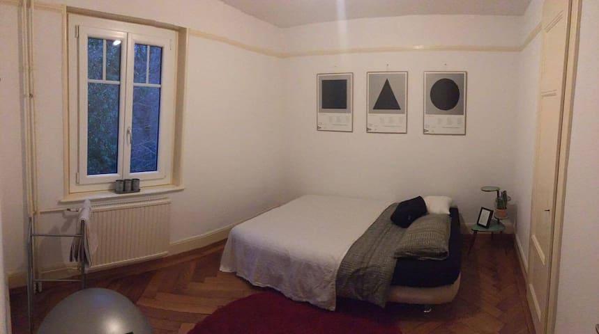 Jolie chambre dans quartier tranquille - Pully - Byt