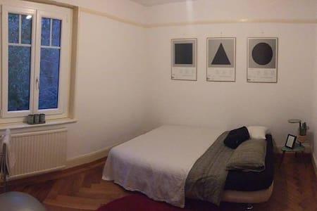 Jolie chambre dans quartier tranquille - Pully - Wohnung