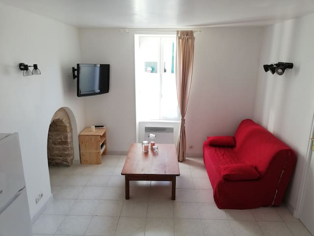 Appartement en plein centre du village