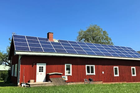 Cozy house on ecological farm 10min from downtown