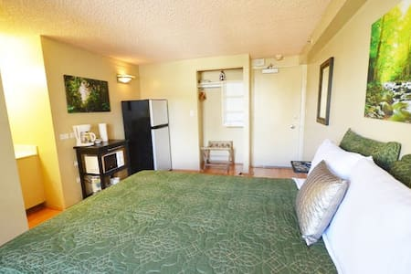 702 Waterfall Room, Mountain View! - Honolulu - Condominium
