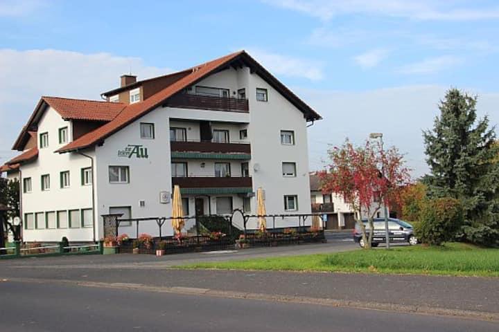 Grüne au Motel