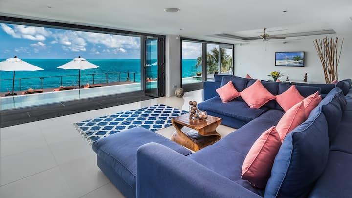 3 Bedroom Luxury Beachfront Villa at Chaweng Beach