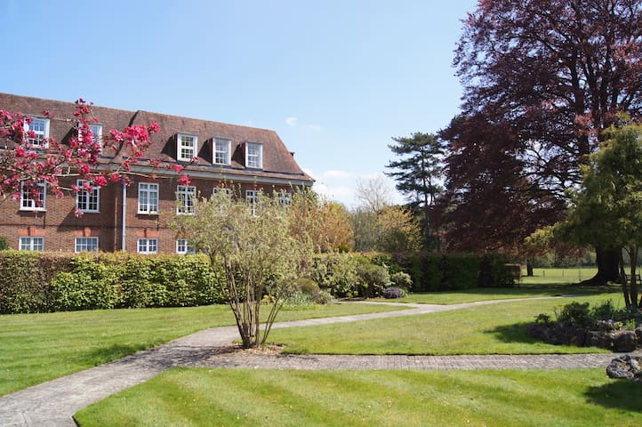 Loft apartment with rural view 15min from Heathrow - Ottershaw - Apartemen