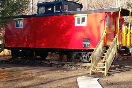 The Lil' Red Caboose Now ready !!