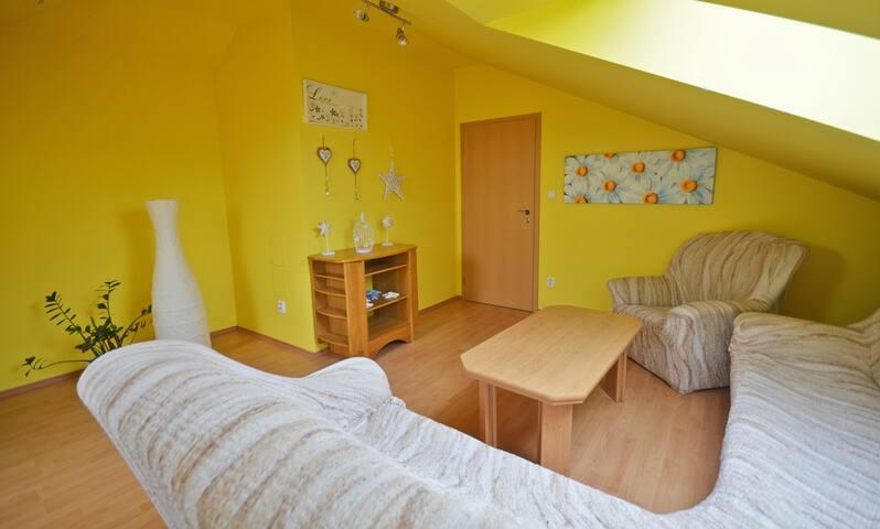 Beatiful apartment in Bohemian paradise