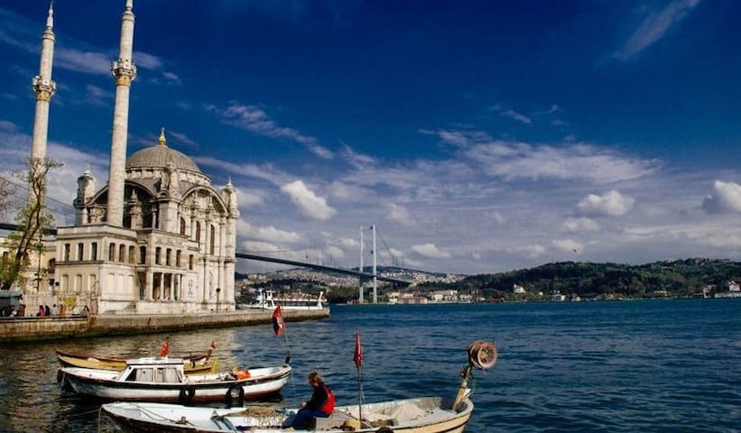 Amazing home with great view in Ortakoy