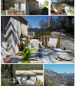 Joli studio proche de NICE et des stations de ski - Bouyon - House