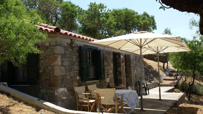 Stone Cottage for couple at Lemnos