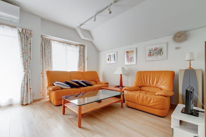 Renovated private cozy room / 2 beds Free wifi! - Tennōji-ku, Ōsaka-shi - Byt